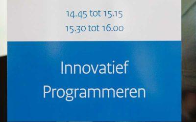 Workshop innovatief programmeren 2 juli 2012
