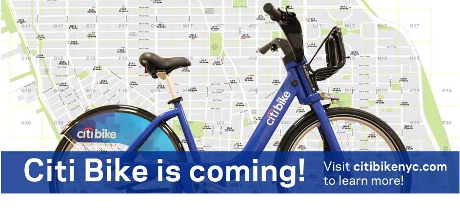 Forens NYC gaat fietsen